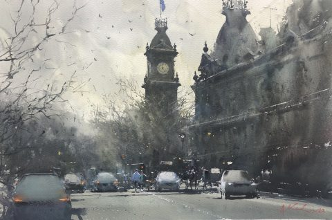 Winter in Bendigo